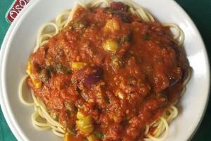 Spaguetti a la Puttanesca